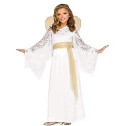 Fantasia Infantil Anjo da Guarda Divino Clássica