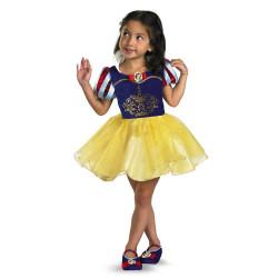 Fantasia Infantil Bailarina Branca de Neve