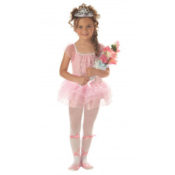 Fantasia Infantil Bailarina Completa