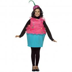 Fantasia Infantil Cupcake