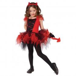 Fantasia Infantil Diabinha Capetinha Bailarina