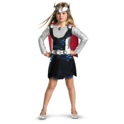 Fantasia Infantil Feminina Thor