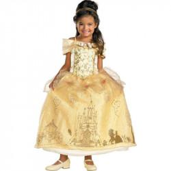 Fantasia Infantil Luxo Bela e a Fera