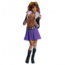 Fantasia Infantil Monster High Clawdeen Wolf