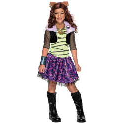 Fantasia Infantil Monster High Clawdeen Wolf Clássica
