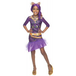 Fantasia Infantil Monster High Clawdeen Wolf Elegante