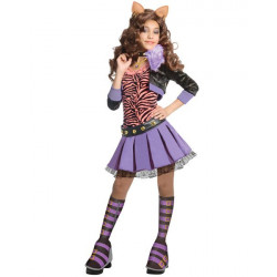 Fantasia Infantil Monster High Clawdeen Wolf Luxo