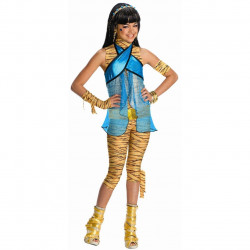 Fantasia Infantil Monster High Cleo de Nile