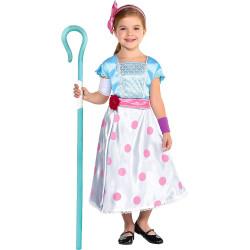 Fantasia Infantil Pastora de Ovelhas Bo Peep Toy Story Luxo