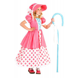 Fantasia Infantil Pastora de Ovelhas Bo Peep Toy Story Rosa