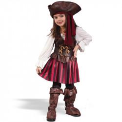 Fantasia Infantil Pirata Delicada
