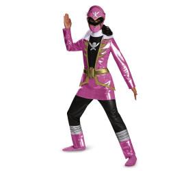 Fantasia Infantil Power Rangers Rosa