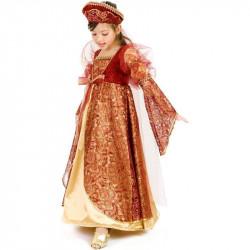 Fantasia Infantil Princesa Medieval Luxo