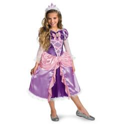 Fantasia Infantil Rapunzel Enrolados