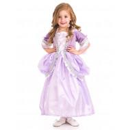 Fantasia Infantil Rapunzel Enrolados Lilás Clássico