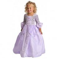 Fantasia Infantil Rapunzel Enrolados Lilás Delicado