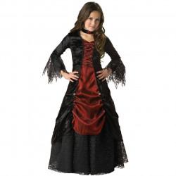 Fantasia Infantil Vampira Gótica Elite