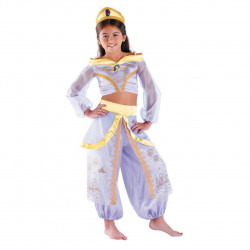 Fantasia Jasmine Infantil Luxo
