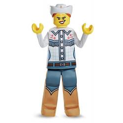 Fantasia Lego Cowgirl Menina Infantil