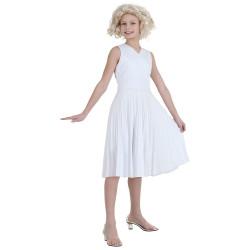 Fantasia Marilyn Monroe Infantil Adolescente