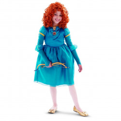 Fantasia Merida Infantil Princesa Valente Luxo