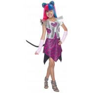 Fantasia Monster High Catty Noir Boo York Infantil Luxo