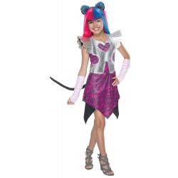 Fantasia Monster High Catty Noir Boo York Infantil Luxo