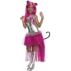 Fantasia Monster High Catty Noir Infantil Luxo