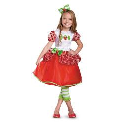 Fantasia Moranguinho Vestido Luxo Infantil