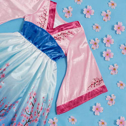 Fantasia Mulan Clássica Infantil