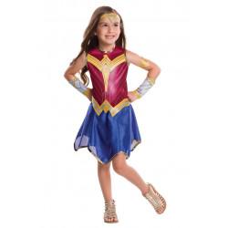 Fantasia Mulher Maravilha A Origem da Justiça Infantil Clássica