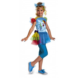 Fantasia My Little Pony Rainbow Dash Infantil