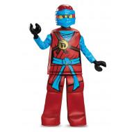 Fantasia Nya Ninjago Lego Luxo Infantil