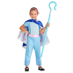 Fantasia Pastora de Ovelhas Bo Peep Toy Story Infantil Luxo