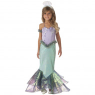Fantasia Pequena Sereia Ariel Infantil Clássica