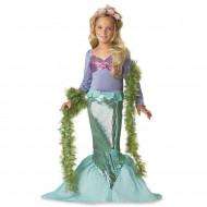 Fantasia Pequena Sereia Ariel Prestige Infantil