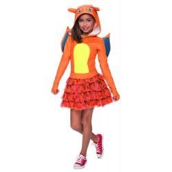 Fantasia Pokemon Charizard Infantil Clássica