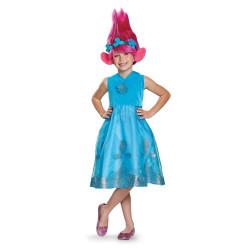 Fantasia Poppy Trolls Infantil Clássica