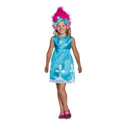Fantasia Poppy Trolls Infantil Luxo