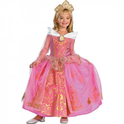 Fantasia Princesa Aurora Infantil A Bela Adormecida Prestige