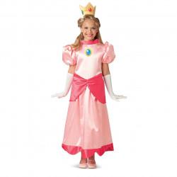 Fantasia Princesa Peach Infantil