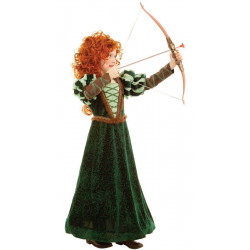 Fantasia Princesa Valente Merida Infantil