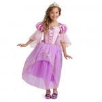 Fantasia Rapunzel Enrolados Disney Infantil Elite