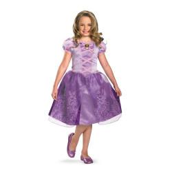 Fantasia Rapunzel Enrolados Infantil Luxo