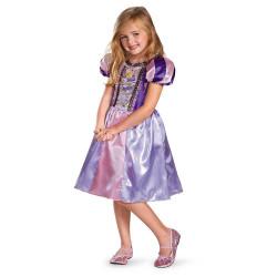 Fantasia Rapunzel Infantil Enrolados