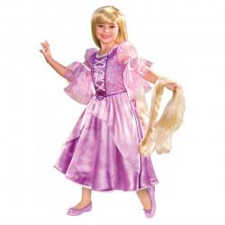 Fantasia Rapunzel Infantil Luxo