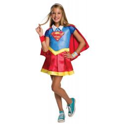 Fantasia SuperGirl Super Garota DC Infantil Luxo