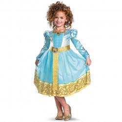 Fantasia Valente Princesa Merida Infantil Clássica Luxo