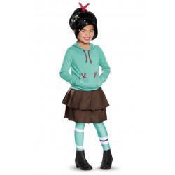Fantasia Vanellope Von Schweetz Wreck Ralph Infantil Luxo