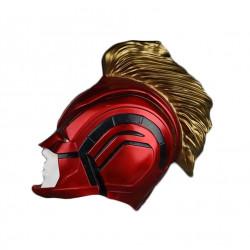 Máscara Capitã Marvel Adulto Elite